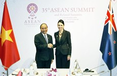 Prime Ministers of Vietnam, New Zealand meet in Bangkok