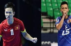Vietnamese futsal players begin trial in Spain