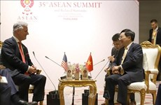 Deputy PM Minh meets US President's Special Envoy on ASEAN 35 sidelines
