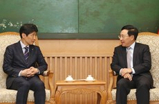 Deputy PM welcomes Governor of Japan's Gunma Prefecture