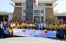 Vietnam-Cambodia youth exchange promotes traditional friendship