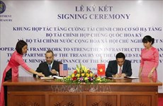 Vietnam, US cooperate to strengthen infrastructure finance