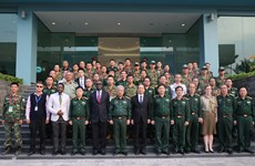 Course held in preparation for peacekeepers