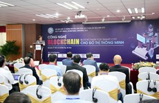 Int'l conference spotlights blockchain technology for smart urban areas