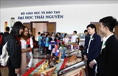 Lao students explore Vietnamese culture