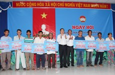 Great national solidarity festival observed in localities