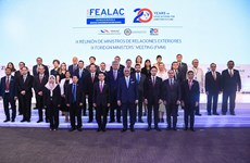 Vietnam attends FEALAC foreign ministers' meeting