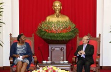 Party official affirms Mozambique's importance to Vietnam