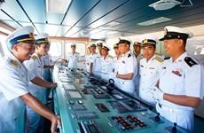 Myanmar's naval vessel visits Vietnam
