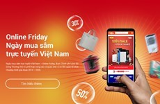 Online Friday 2019 supports sales through e-voucher