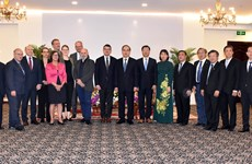 HCM City leader welcomes Hessen Parliament President