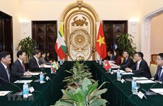 Vietnam, Myanmar hold deputy ministerial-level political consultation