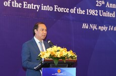 Vietnam marks 25th anniversary of UNCLOS's entry into force