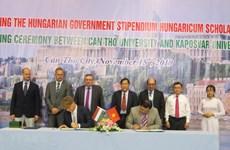 Can Tho University promotes education partnership with Hungary