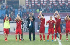 Korean media praise Vietnam's performance against UAE