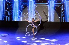 Circus festival entertains tourists in Quang Ninh