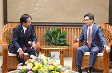Deputy PM receives Japan's Kanagawa Governor