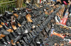 Cambodia enjoys surge in export of footwear, travel goods
