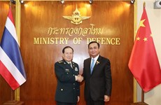 Thailand, China agree to enhance military cooperation