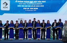 US group inaugurates animal feed plant in Ha Nam province