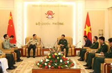 General Staff Chief receives Chinese guest
