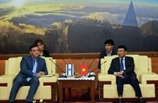 Israeli Ambassador to Vietnam visits Lao Cai province