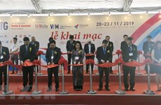 Exhibitions display textile-garment, footwear machinery, accessories