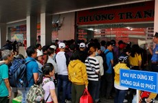 Trade unions to help workers go home for Tet