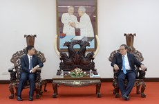 An Giang province, Cambodia boost cooperation