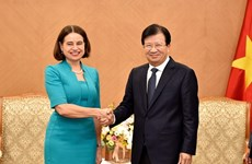 Deputy PM hopes for stronger Vietnam-Australia economic links