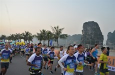 Halong Bay marathon to be held this weekend