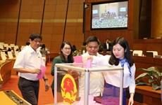 Legislators make decisions on three draft laws, personnel work