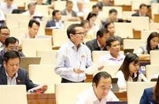 National Assembly adopts three laws on November 25