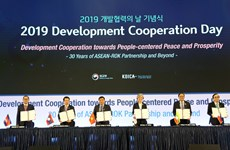 RoK, five ASEAN countries sign MOU on development assistance