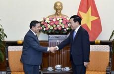 Deputy PM meets new Lao, Saudi Arabian ambassadors