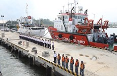 Vietnam Coast Guard ship visits Japan