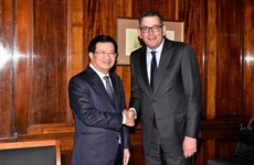 Deputy PM lauds Australian state's cooperation with Vietnamese localities