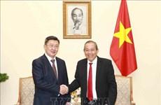 Deputy PM: Vietnam considers Mongolia important partner