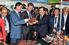 Event promoting Vietnamese goods held in Australia