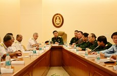 Chief of VPA General Staff Phan Van Giang active in India
