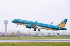Vietnam Airlines launches flight linking Da Nang, China's Chengdu city