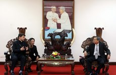 Vatican special envoy Archbishop Marek Zalewski meets An Giang leaders