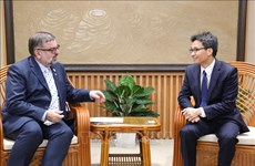 Deputy PM receives UN HIV/AIDS official