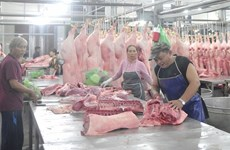 Pork price pushes up November CPI