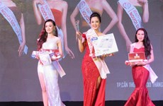 Can Tho University students win Vietnam-Japan Beauty Contest
