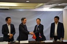 Journalists' organisations of Vietnam, Thailand boost cooperation