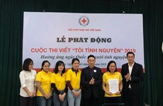 Vietnam Red Cross launches writing contest on volunteer activities