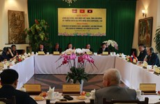 Programme boosts ties among Vietnamese, Lao, Cambodian farmers