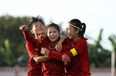 Vietnam to face Philippines in women's football semi-final