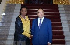 Prime Minister greets Kenyan guest